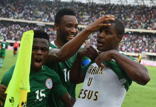 Ighalo identifies Mikel Obi's key Ability in Super Eagles AFCON title Hunt