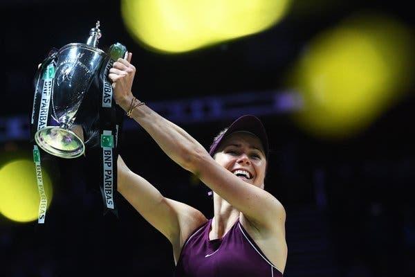 WTA Finals champion Elina Svitolina helps rising tennis star pay medical bill