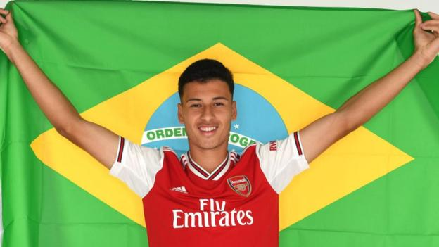 Brazilian teenager Martinelli confirmed as Arsenal's first summer signing