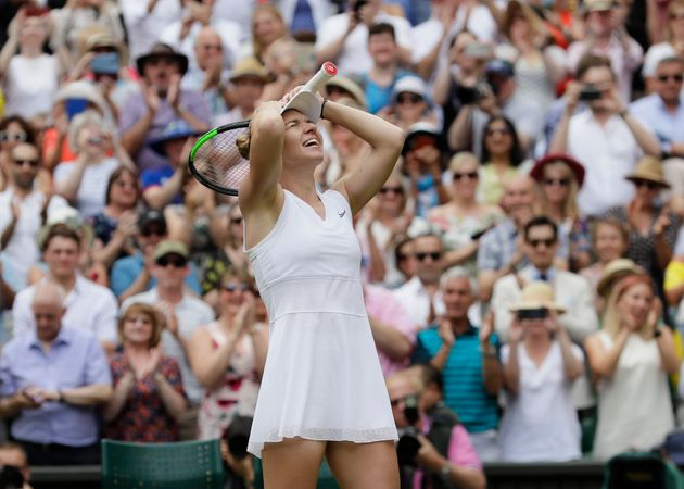 Simona Halep Beats Serena Williams to win 1st Wimbledon Title