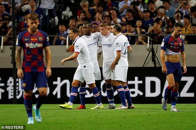 Chelsea beat Barcelona 2-1 to win Rakuten Cup in Japan