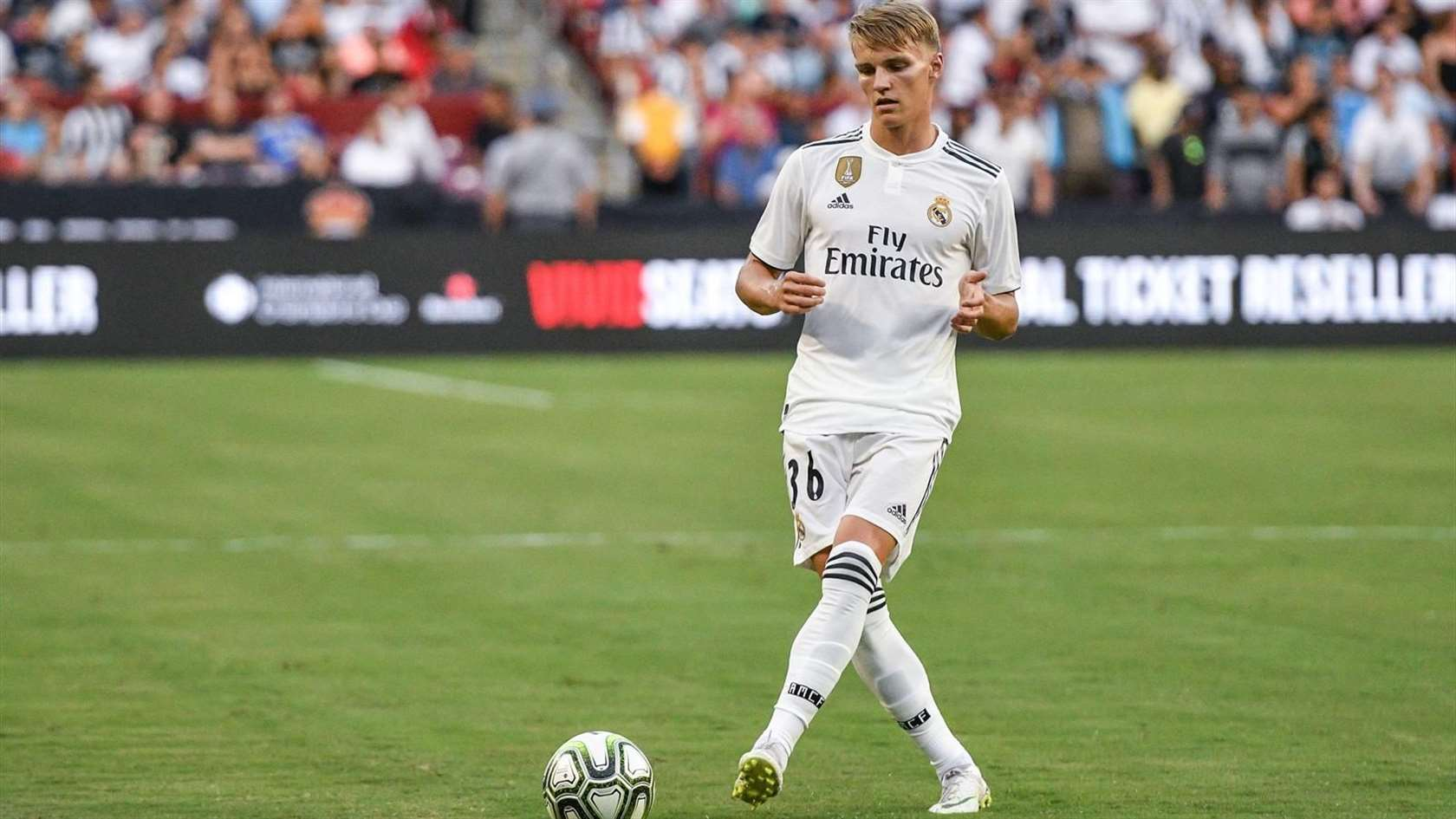 Real don send Odegaard ontop another loan waka