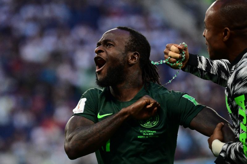 Victor Moses is backing Super Eagles for victory against Algeria