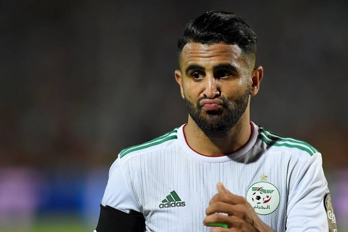 Algeria skipper Mahrez wary of the Senegalese Lions in AFCON final