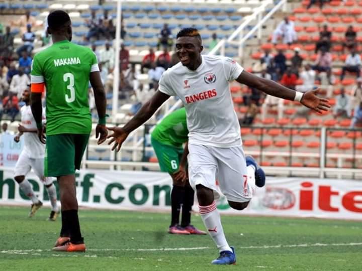 Niger Tornadoes Snaps Up Rangers's Godwin Zaki On A Season Long Loan