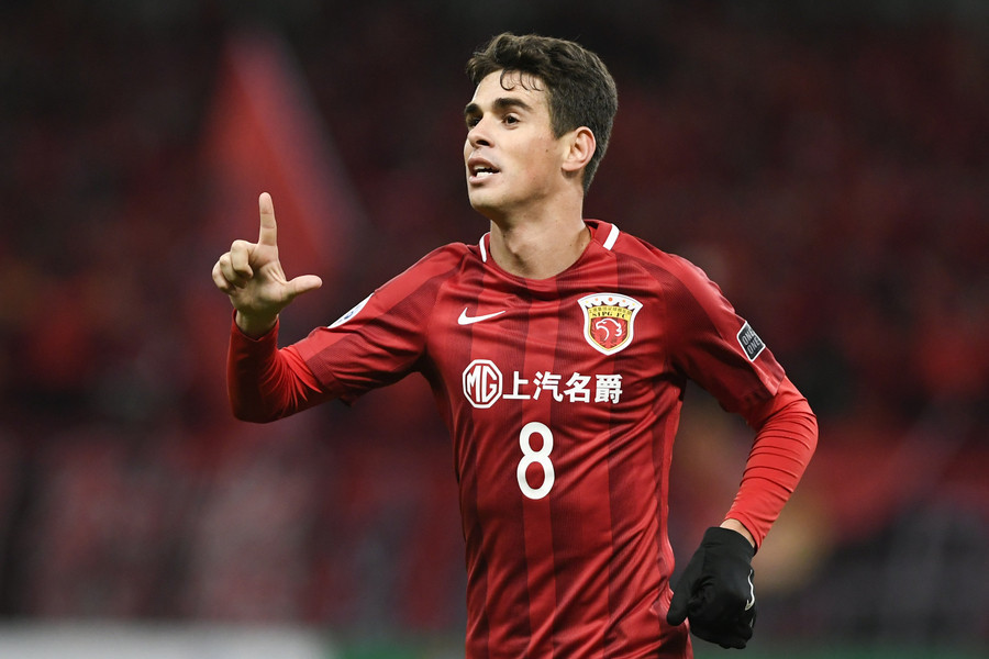 Oscar Wants Europe Return After Securing the bag in China