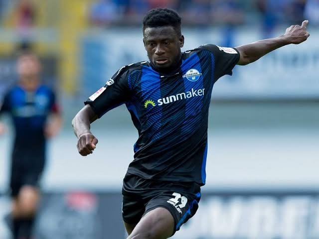 Norwich City keen on signing Jamilu Collins from SC Paderborn