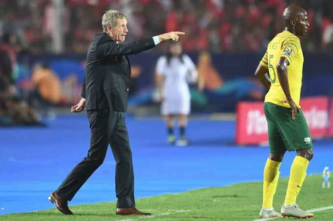 Baxter believes Bafana Bafana can compete with the best teams in Africa despite loss to Eagles