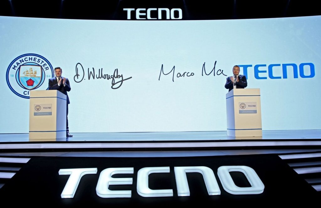 Manchester City extend global partnership with TECNO Mobile