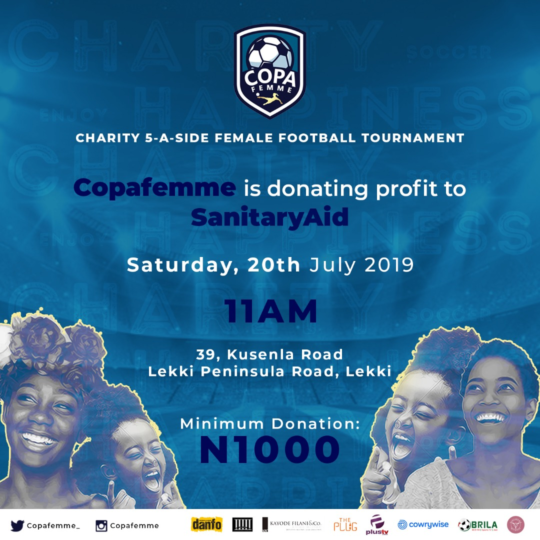 CopaFemme 2019: All-women football tourney debut in Lagos