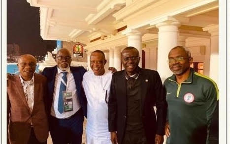 NFF hails dignitaries who cheered Eagles to victory against Lions - Brila