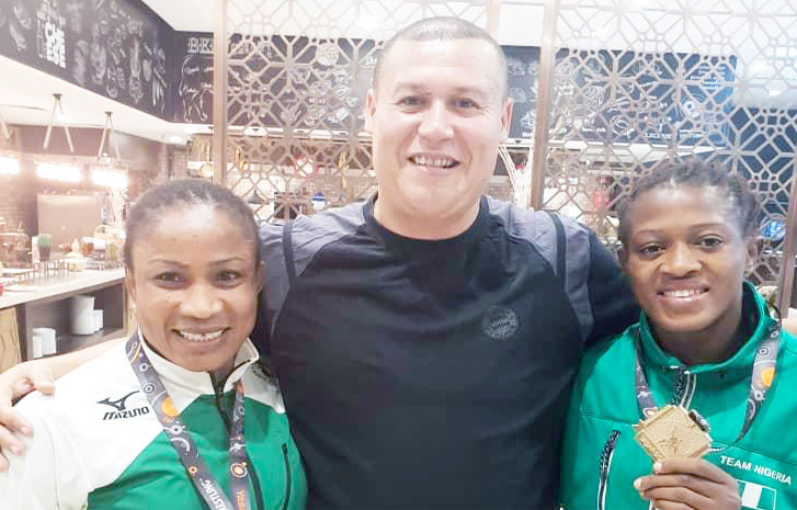 Adekuoroye, Oborududu Shine In Women's Wrestling in Turkey