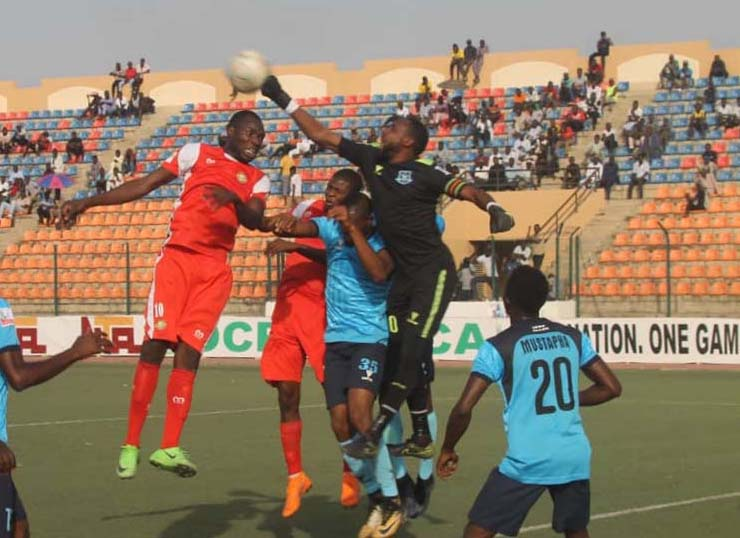 Tornadoes goalkeeper Aliko wants his colleagues to show more attitude