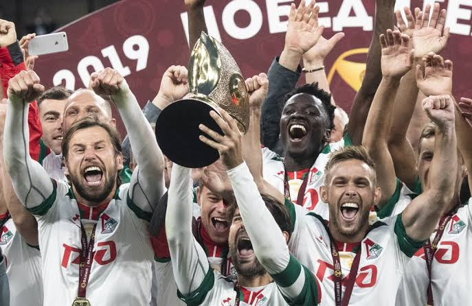 Brian Idowu Wins Russian Super Cup With Locomotiv Moscow