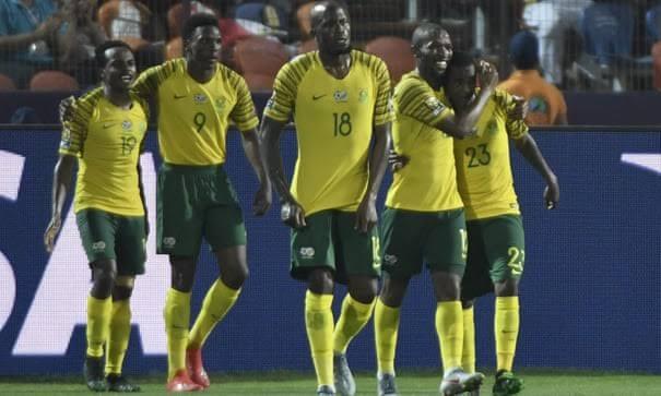 Bafana Bafana knock hosts Egypt out, to face Super Eagles quarterfinal