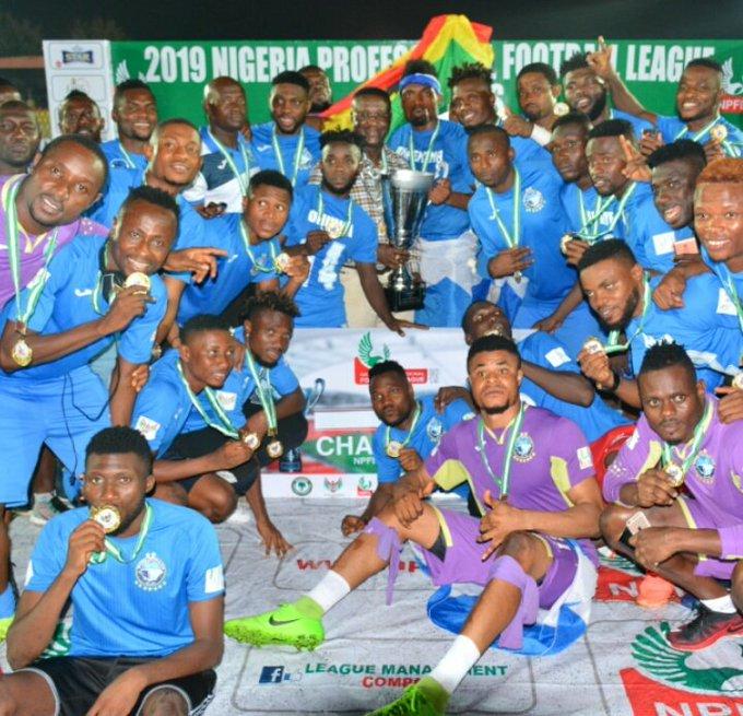 FIFA President Congratulates Enyimba on NPFL Triumph