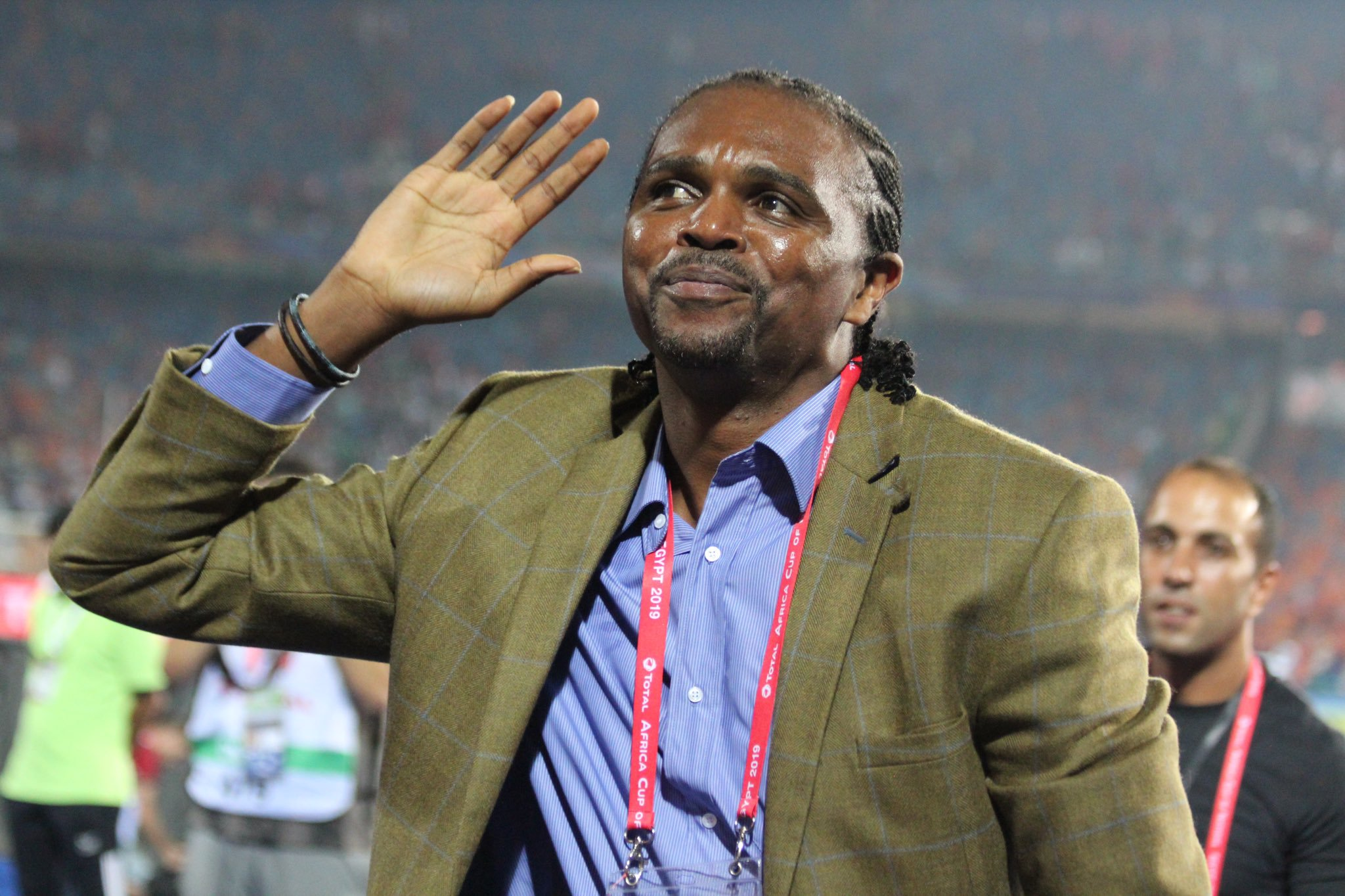 Saving lives and backing Eagles – Nwankwo Kanu is indeed an inspiration