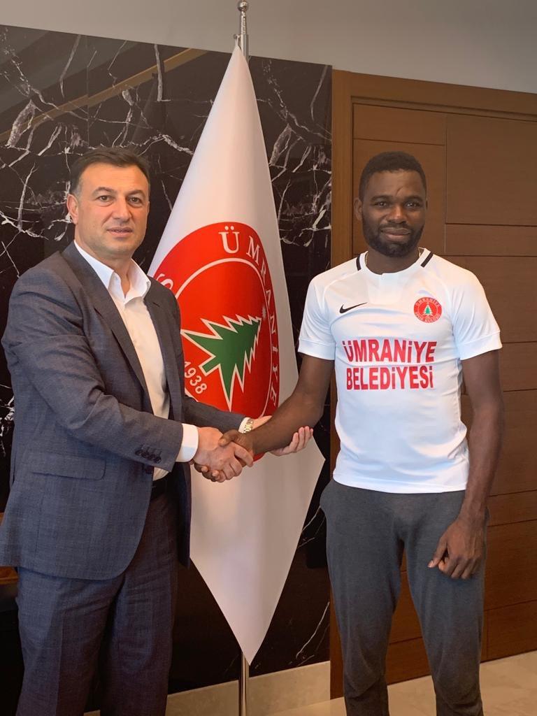 Akabueze Joins Turkish Side Umraniyespor