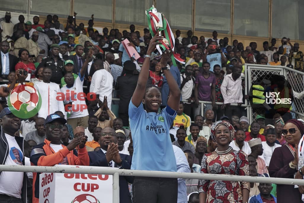 Aiteo Cup Final: Nasarawa Amazons Win First Title in Fourteen Years