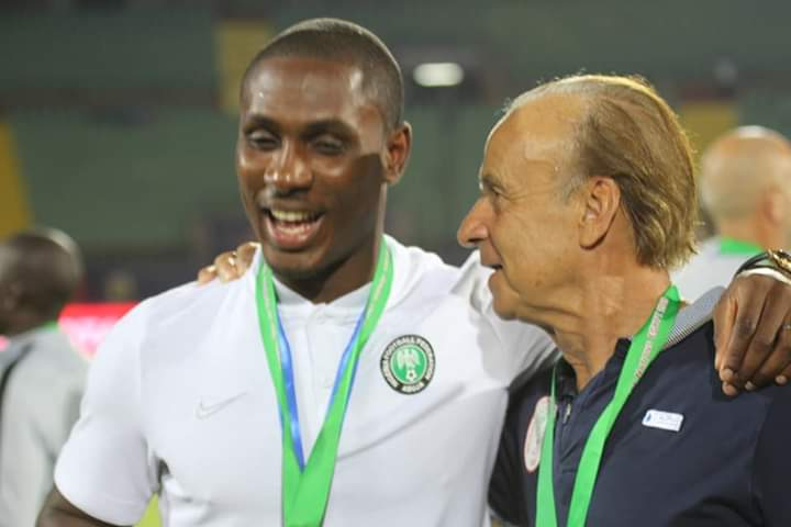 How Gernot Rohr Helped Odion Ighalo From Mortal Villain To A Hero