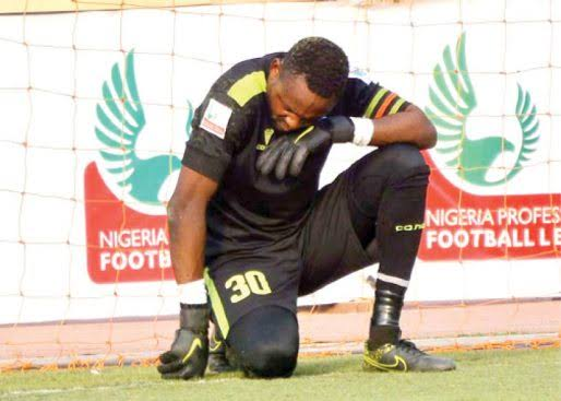 2019 AITEO Cup: Tornadoes goalkeeper Mustapha Aliko accepts fate