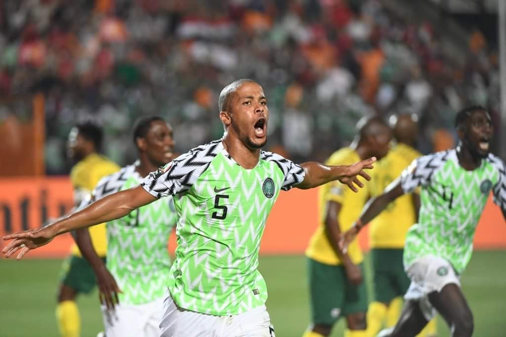 Troost-Ekong Dedicates His Decisive Goal Against South Africa To Son, Oscar