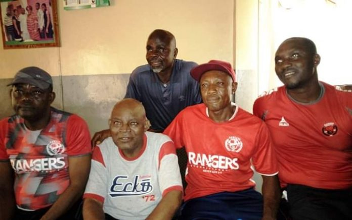 Rangers Technical Crew Visits Christian Chukwu in Enugu