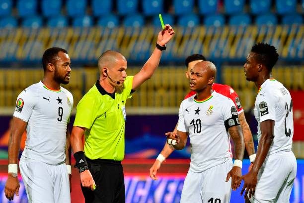 South African who issued 10 Yellow cards in Two games will Officiate Tunisia vs Nigeria game