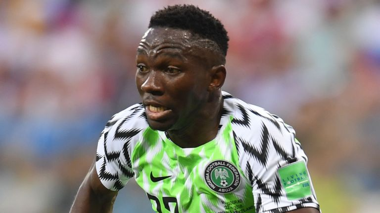 Win over Bafana Bafana excites Omeruo