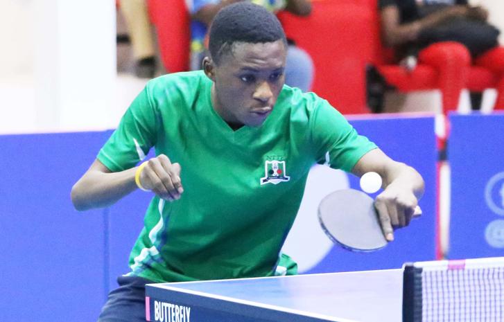 2019 ITTF Africa Cup: Teenage sensation Mati makes Team Nigeria list