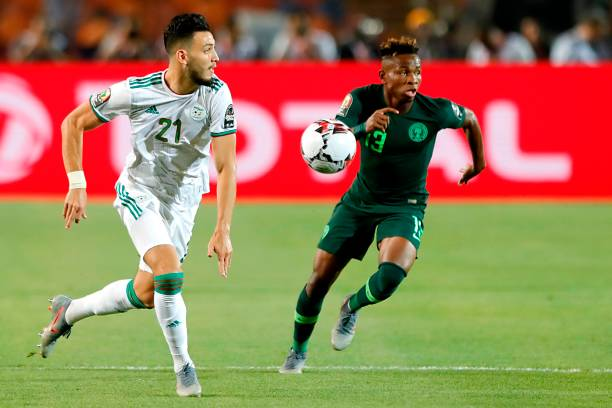 Chukwueze describes Eagles loss to Algeria as disappointing