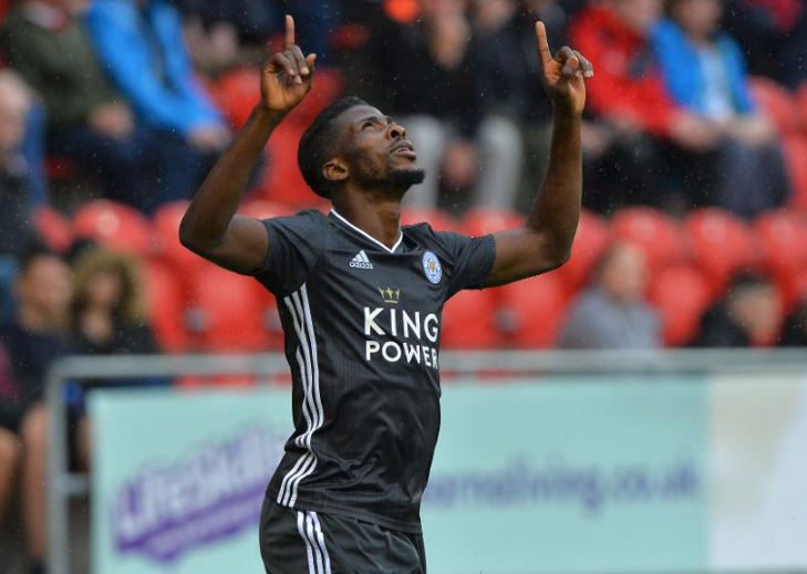 Iheanacho to the rescue! Eagles forward nets a double against Rotherham in pre-season