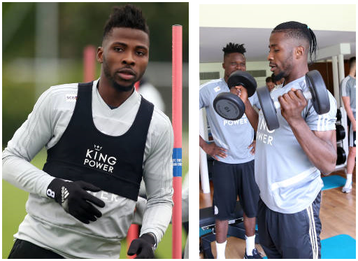 Iheanacho spots new 'daring' look ahead of new PL season