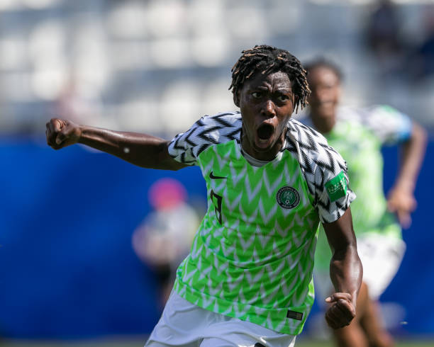 Oshoala Asks CAF to Rethink AWCON, POTY Awards Cancellation