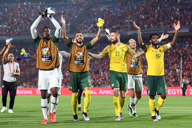 South Africa Stun Host Egypt 1-0, set up mouthwatering Quarter-final clash against Nigeria