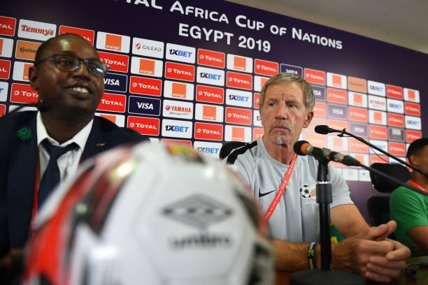 You're not Fooling Anyone! Bafana Bafana Coach Baxter replies Gernot Rohr