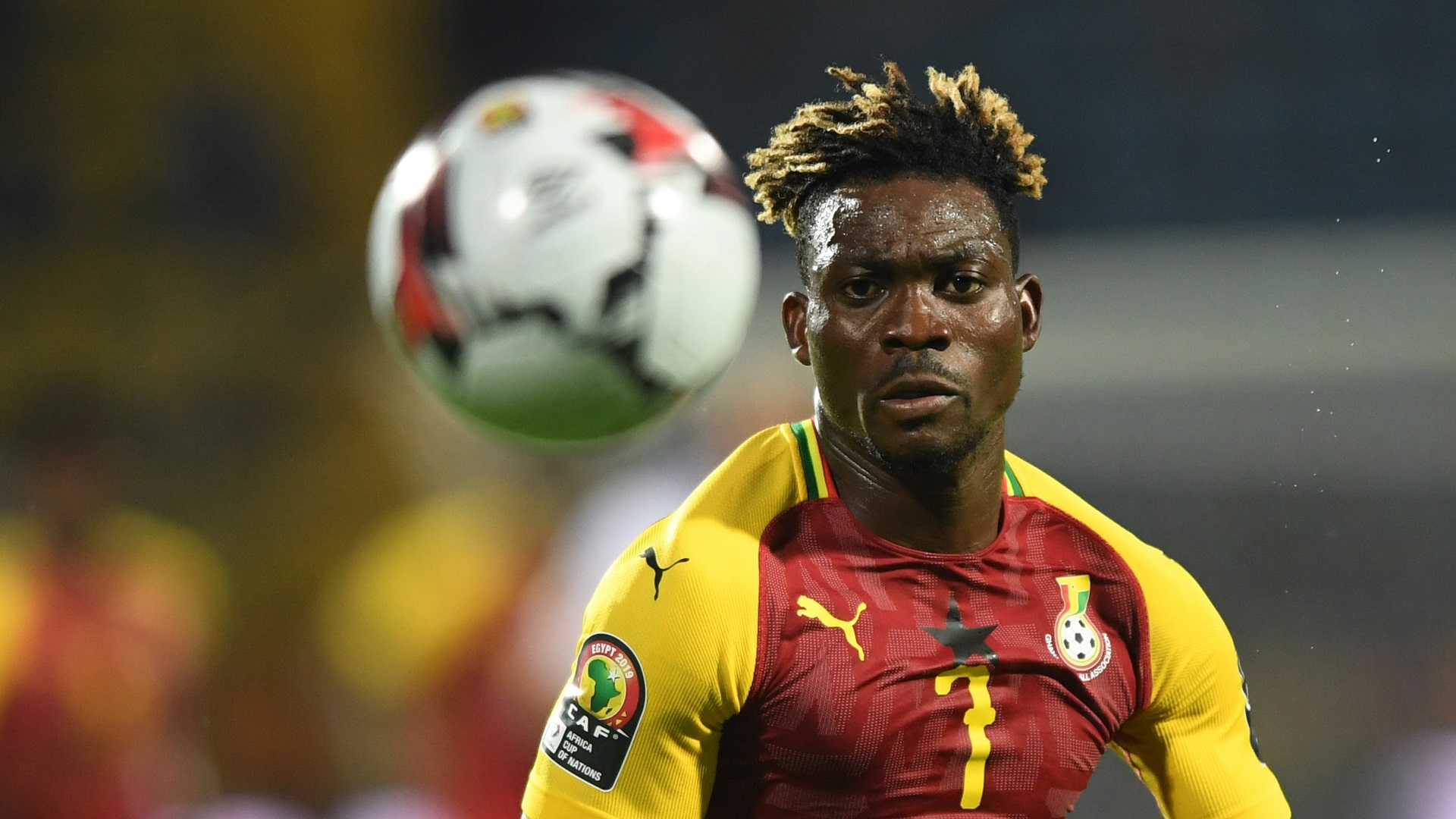 Ghana's Christian Atsu ruled out of AFCON with hamstring injury