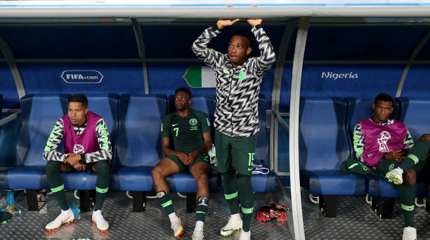 Injured Super Eagles Right-back returns to Training
