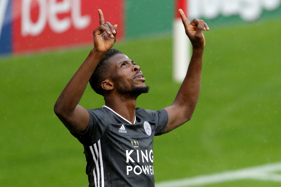 Leicester City Coach Happy With Iheanacho's Form
