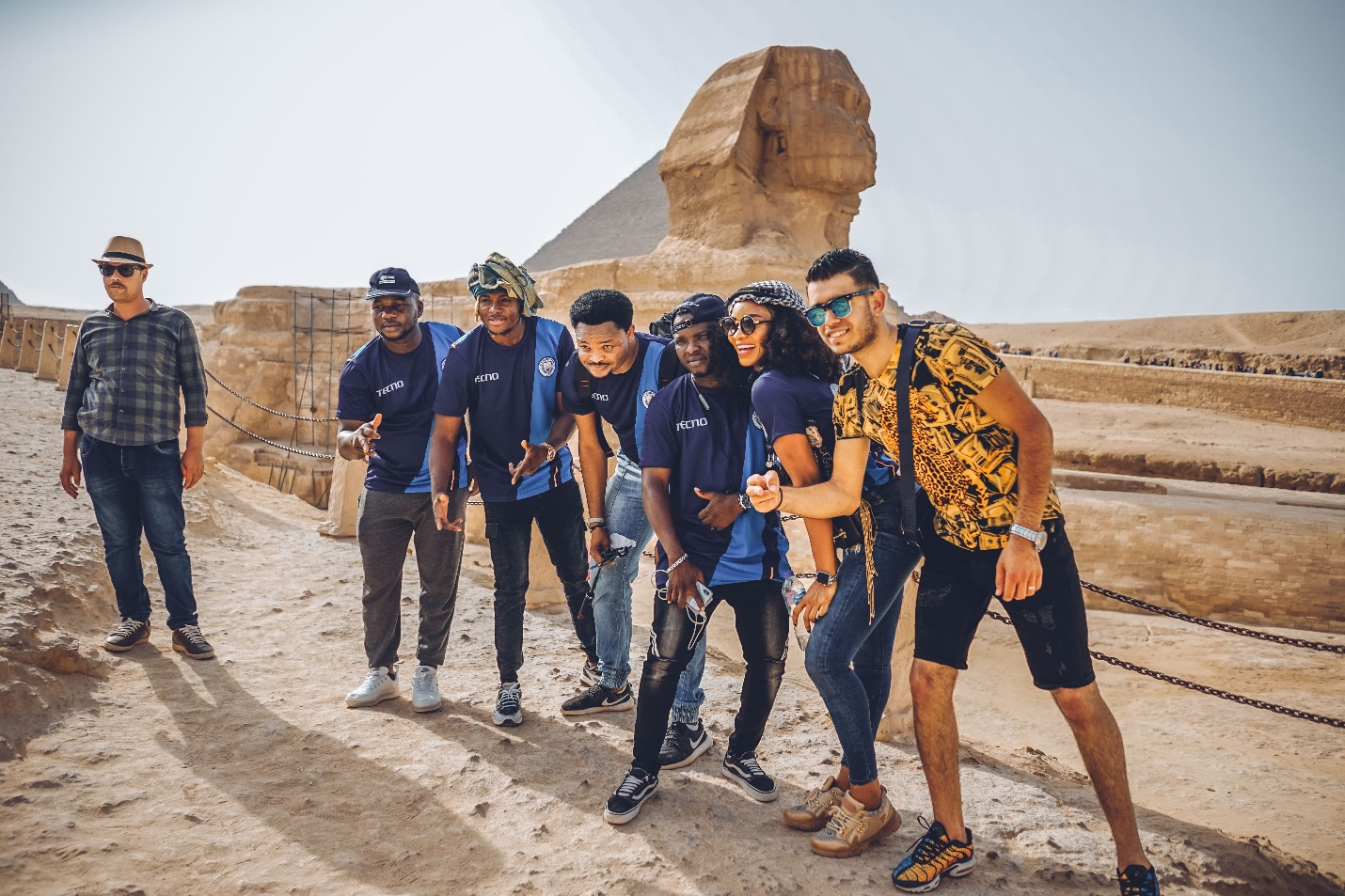 The 'never-to-be-forgotten' win a trip to Egypt with Ikpeba campaign sponsored by TECNO