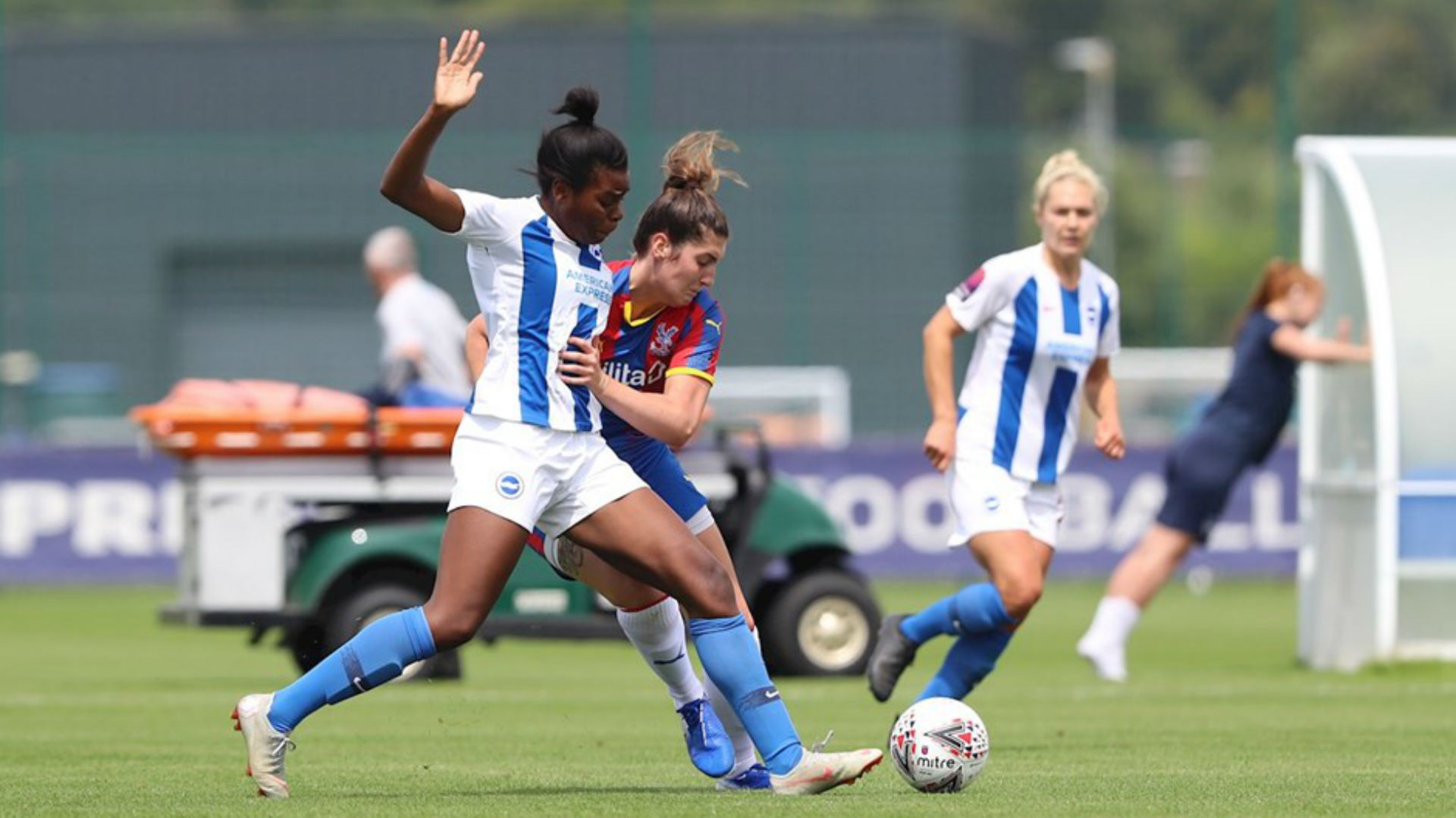 English Women's Cup: Ini-Abasi Umotong helps Brighton book quarter-final ticket