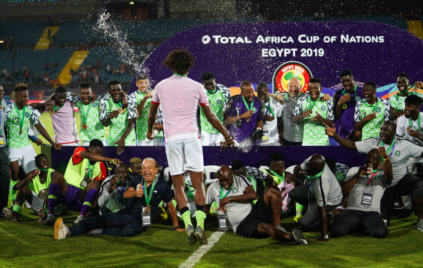 Rohr happy Eagles didn't finish AFCON empty-handed