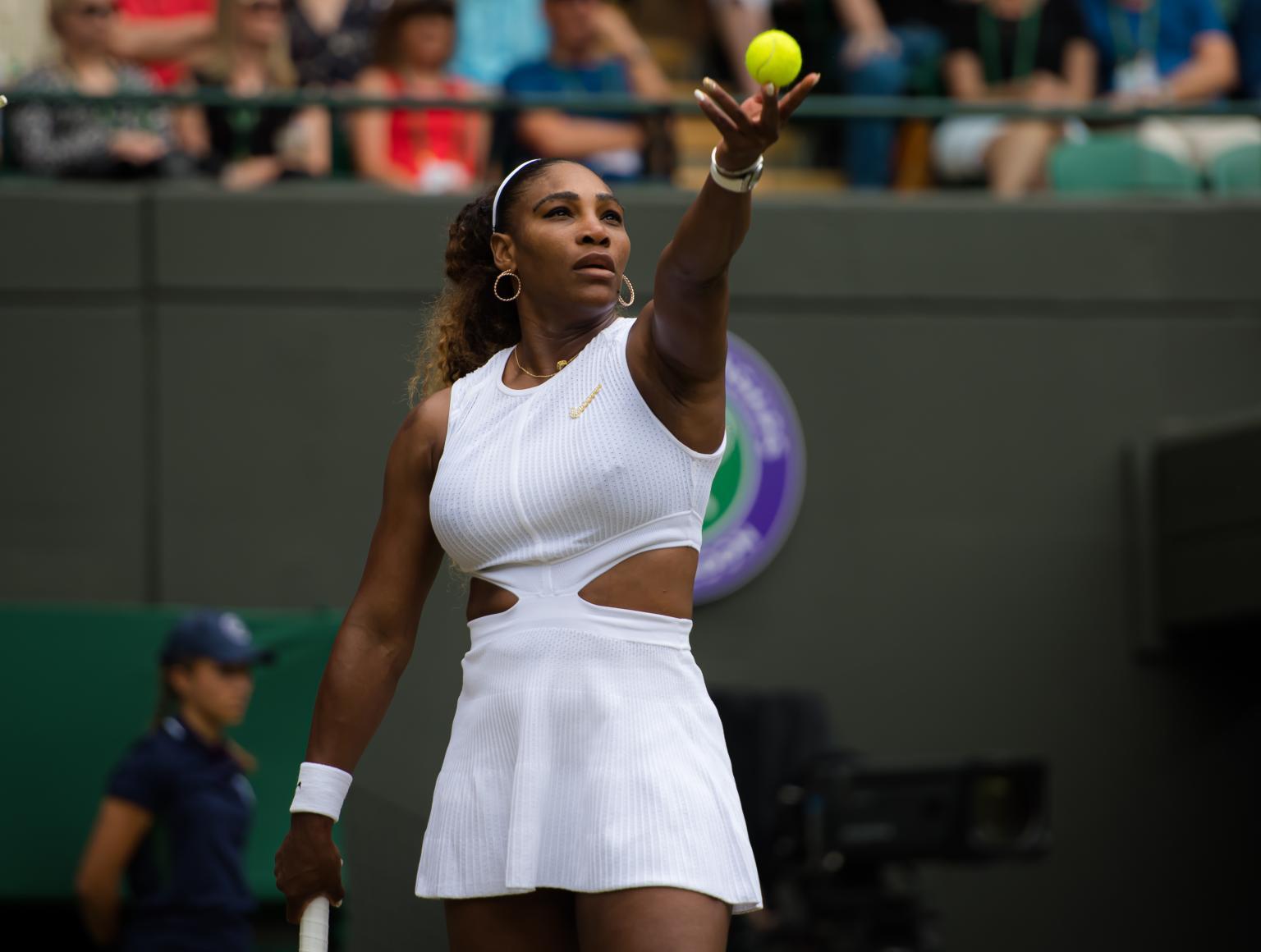 Serena not underrating Halep ahead of Wimbledon final
