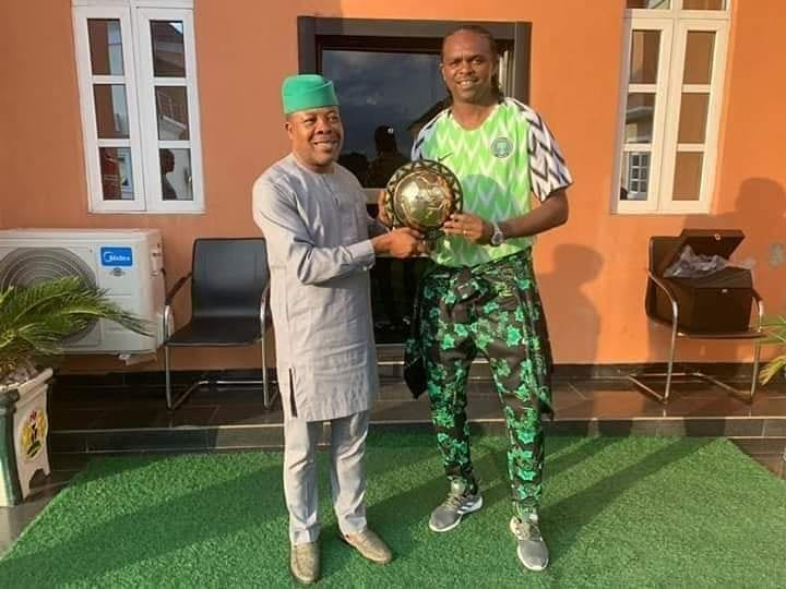 JUST IN – Nwankwo Kanu appointed as SSA on Sport matters to Imo Governor Ihedioha