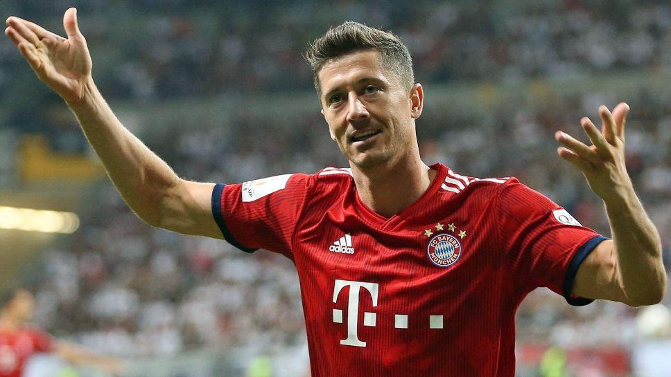 Lewandowski tarsis Bayern
