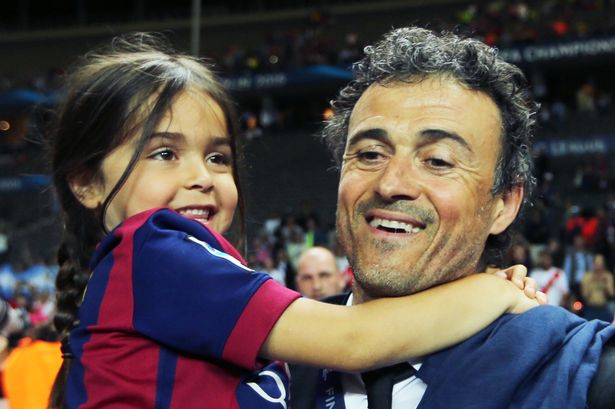 Former Barca boss Luis Enrique loses daughter Xana to cancer