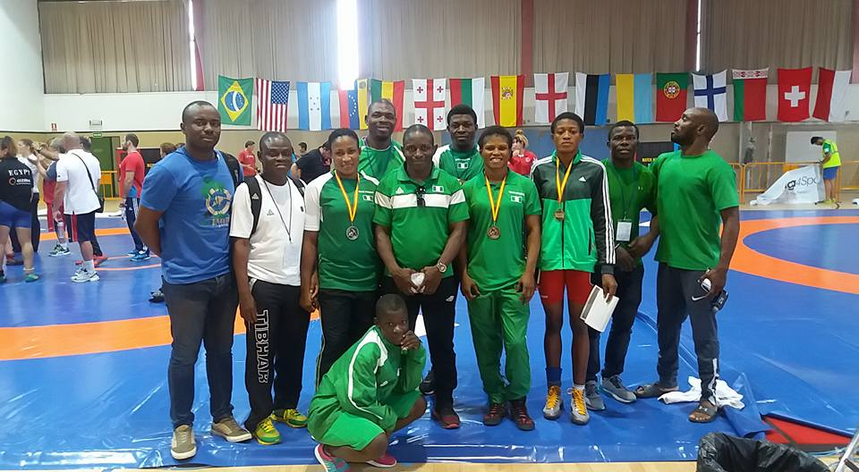 Nigerian Wrestlers set to compete at the All African Games