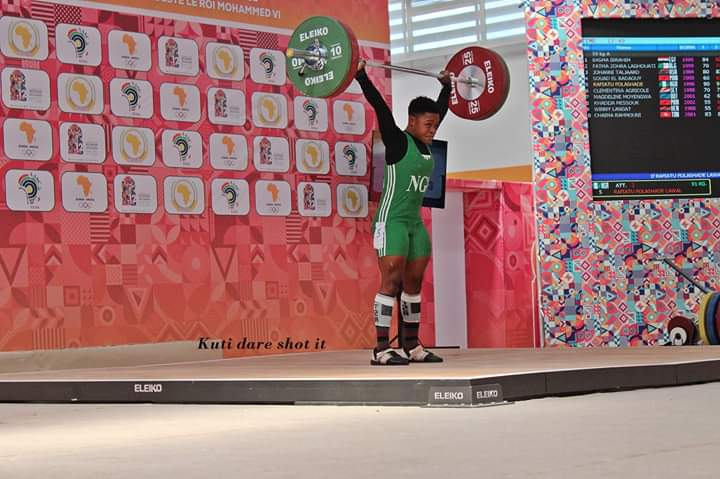 Weightlifting: Folashade Lawal Sets New African Record
