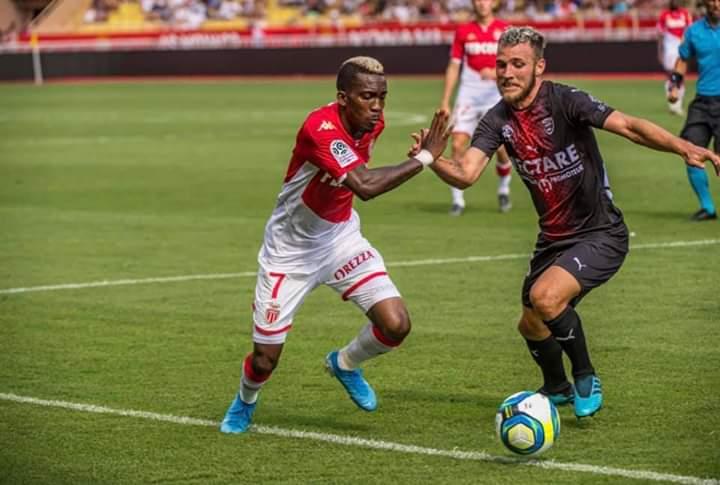 Onyekuru Happy To Help Monaco To Their First Point Of The Season