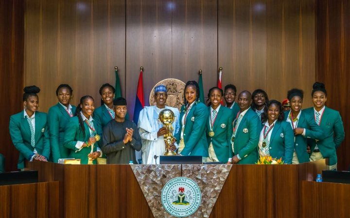 President Buhari lauds D'Tigress for retaining Afrobasket title